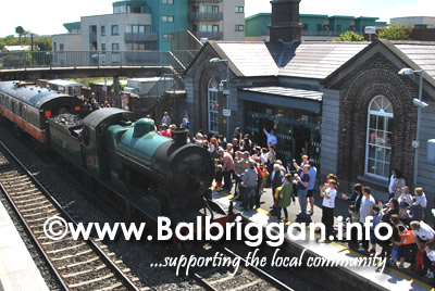 Railway Preservation Society of Ireland - Balbriggan