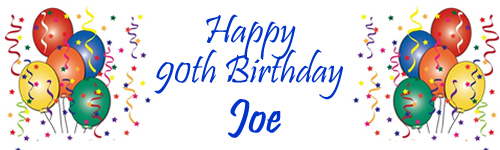 HAPPY 90th BIRTHDAY Joes Family Would Like To Thank Michael And Marie Of The Central For Everything On Sunday