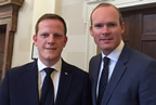 Alan Farrell TD with Min Coveney smaller