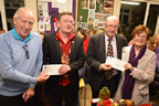 Tom Quinlan, Balbriggan Cancer Support Group, Christopher White, Paddy Nugent, Naul Senior Citizens and