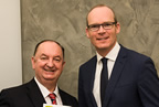 cllr_oleary_and_Minister Simon Coveney smaller