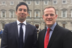 Alan Farrell TD with Minister Eoghan Murphy_smaller