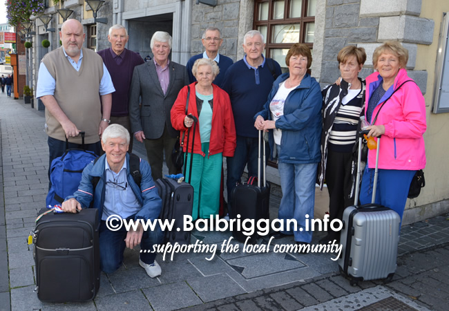 BALBRIGGAN LIONS CLUB - SENIOR CITIZENS TRIP TO CORK