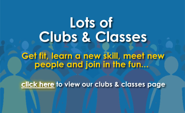 Lots of clubs and classes