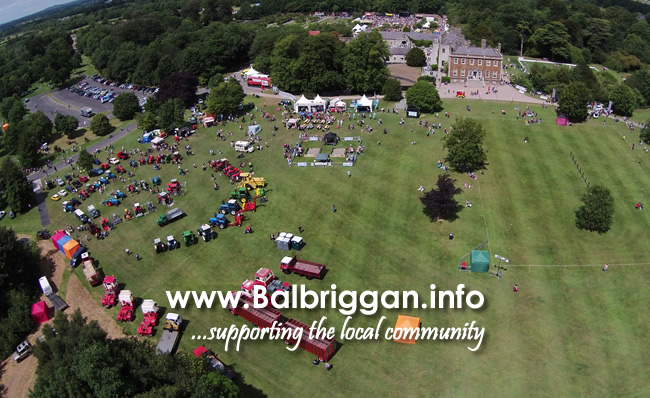 Flavours of Fingal 2017 from the air