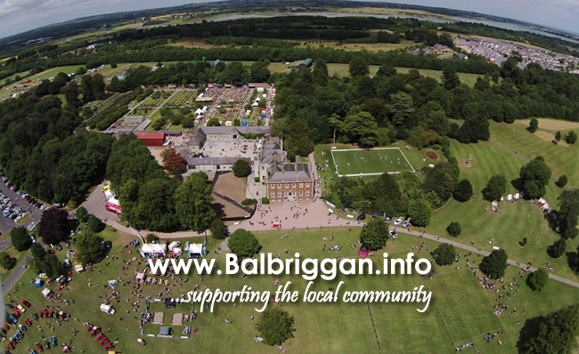 Flavours of Fingal from the air