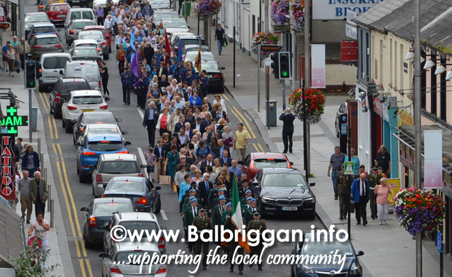 Commemoration in honour of Terence Mc Mahon from Balbriggan 15jul16_2
