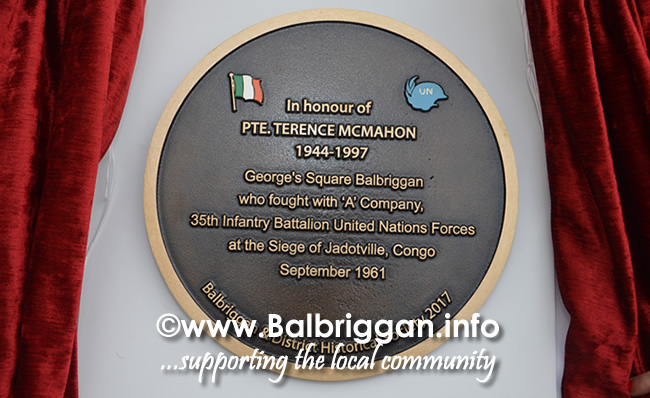 Commemoration in honour of Terence Mc Mahon from Balbriggan 15jul16_22