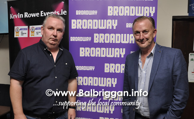 O'Dwyers GAA club Balbriggan launch Broadway 19jul19