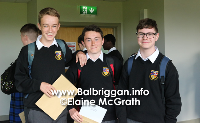 balbriggan community college junior cert results 13sep17