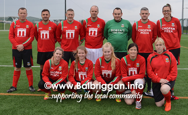 Balbriggan Six-pack Club charity football match 30oct17