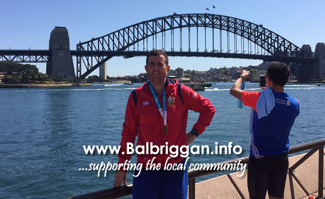 Leon Staunton ran the Sydney Marathon in Aid of Remember Us