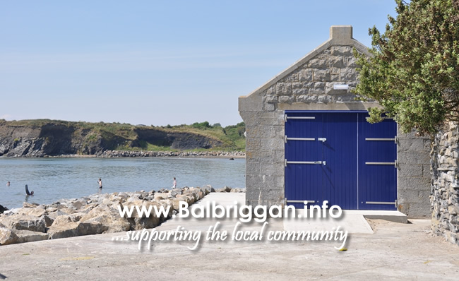 Loughshinny boat house