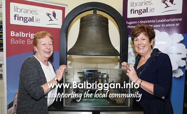 Alice Davies and Mayor of Fingal, Cllr. Mary McCamley