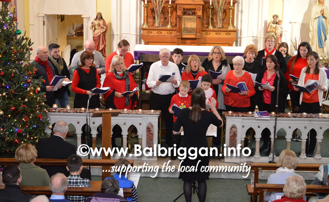 Balscadden Choir Carol service 17dec17