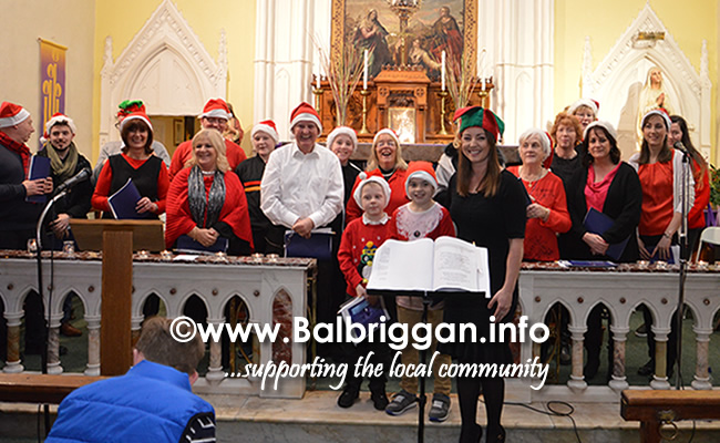 Balscadden Choir Carol service 17dec17_2