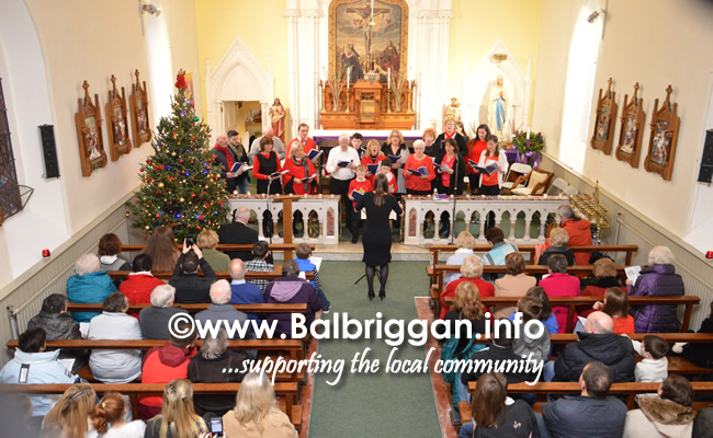 Balscadden Choir Carol service 17dec17_6