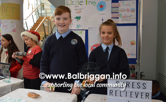 Students from Scoil Réalt na Mara in Skerries at Fingal Youth Enterprise Market