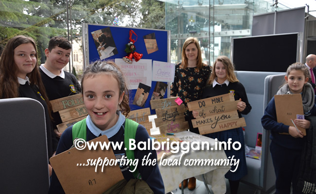 Students from St. Finian's Community College in Swords