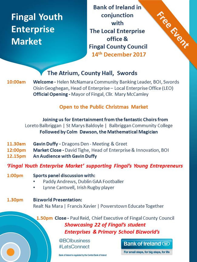 Fingal Youth Enterprise Market Final