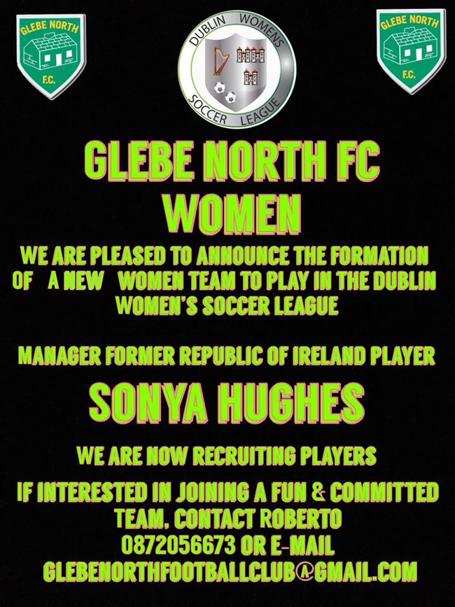 Glebe North FC Balbriggan Women