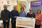 balbriggan lions club present cheque to Balbriggan Meals on wheels 30jan18_smaller