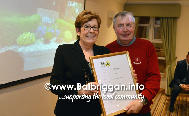 Balbriggan Tidy Towns Association Volunteer Appreciation Evening 15feb18