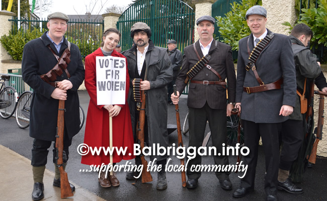 Fingal Old IRA Commemorative Society Parade and talk 18-feb-18