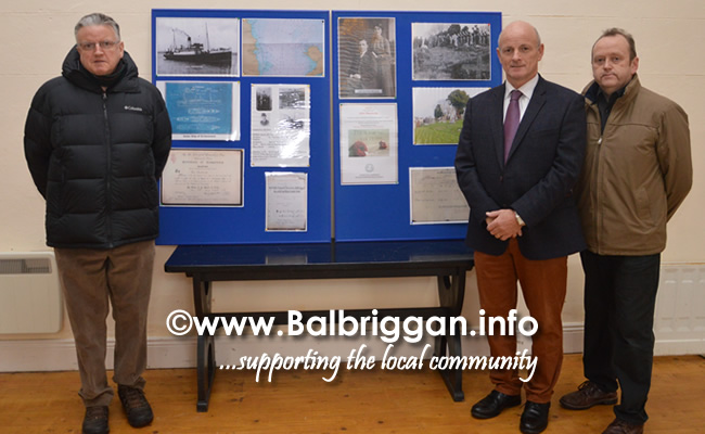 Brian Smith and organisers Pat Hickey and Martin Fanning
