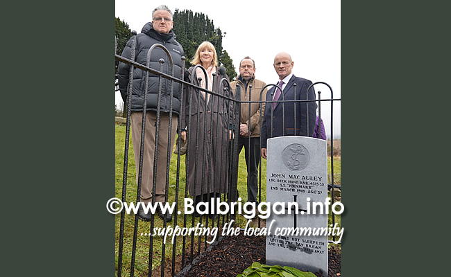 Commemoration to mark the 100th Anniversary of sinking of the SS Kenmare