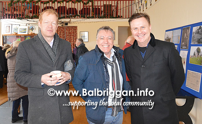 Kevin Tolan, Cllr Tony Murphy and John Gallen