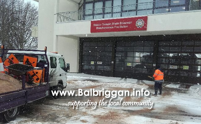 FCC Staff at Blanchardstown Fire Station