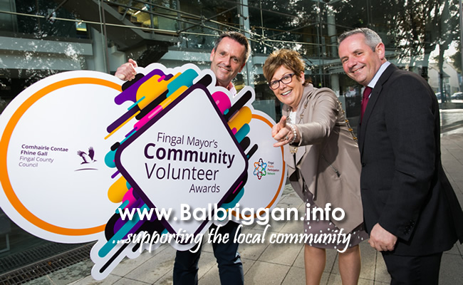 RTÉ News newsreader, Aengus Mac Grianna, Mayor of Fingal, Cllr Mary McCamley, Chief Executive of Fingal County Council, Paul Reid