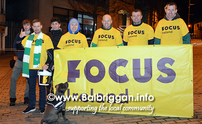 ODwyers Centenary Sleep Out in Balbriggan aid of Focus Ireland 10mar18