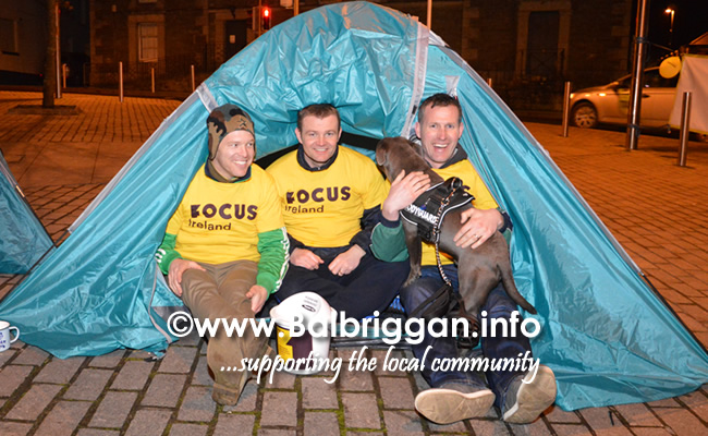 ODwyers Centenary Sleep Out in Balbriggan aid of Focus Ireland 10mar18_2