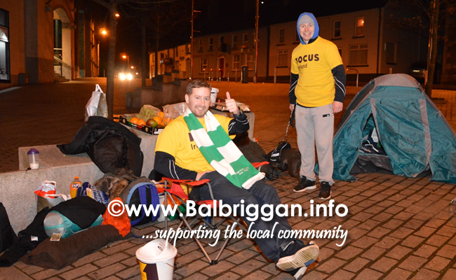 ODwyers Centenary Sleep Out in Balbriggan aid of Focus Ireland 10mar18_3