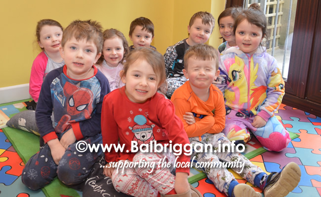 pyjama day balbriggan creche and playschool 09mar18