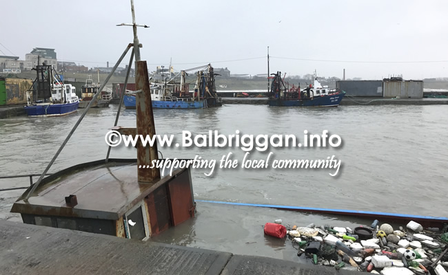 sunken boats balbriggan harbour 04mar18