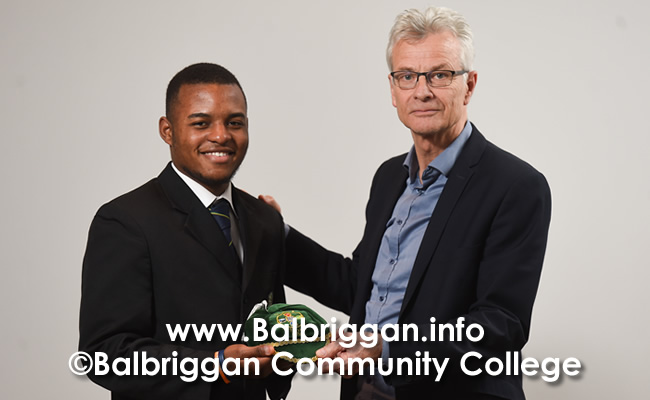 Balbriggan Community College Teacher and Student Double Football success apr18_2