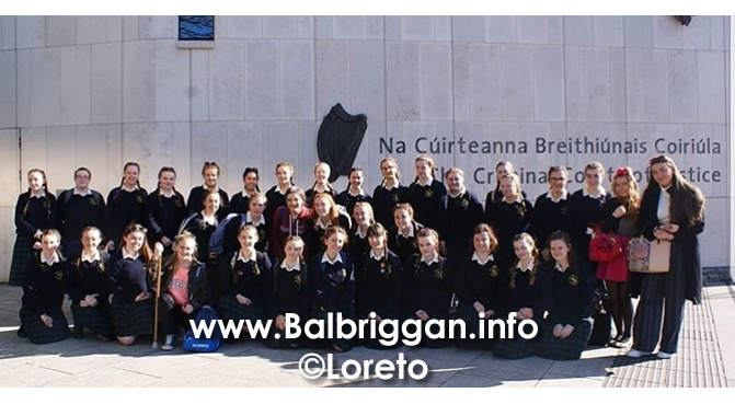 Loreto Balbriggan students earn their place in 2018 Mock Trial semi-final 09may18_2