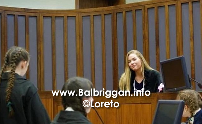 Loreto Balbriggan students earn their place in 2018 Mock Trial semi-final 09may18_4