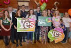 Minister Simon Harris attends Balbriggan Rally calling for YES Vote 19may18_smaller