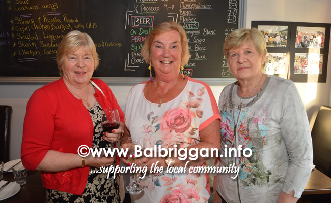 David wife Collette with David's sisters Ann and Kathleen