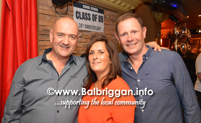 Balbriggan Community College class of 88 reunion 16jun18