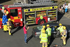 balbriggan fire brigade car crash demonstration 02jun18 smaller