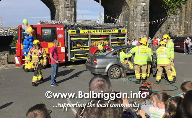 balbriggan fire brigade car crash demonstration 02jun18_2
