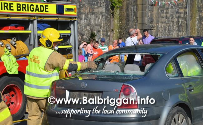 balbriggan fire brigade car crash demonstration 02jun18_6
