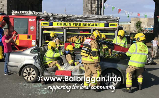 balbriggan fire brigade car crash demonstration 02jun18_8