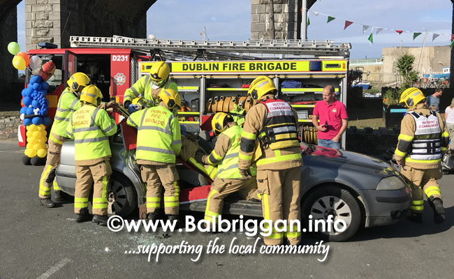 balbriggan fire brigade car crash demonstration 02jun18_9