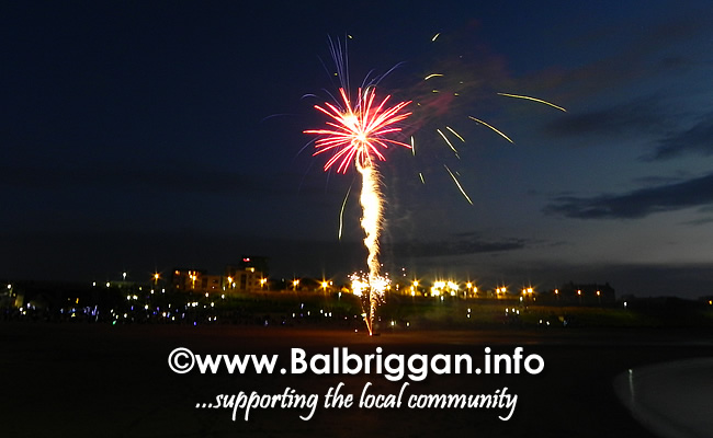 balbriggan summerfest fireworks display 01jun18